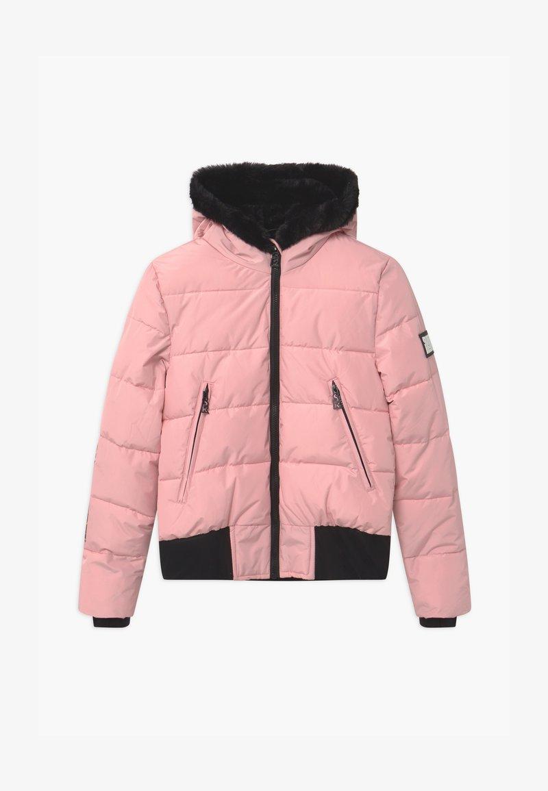 SuperRebel - SUSTAINABLE BASIC SHINY GIRLS - Snowboard jacket - light pink
