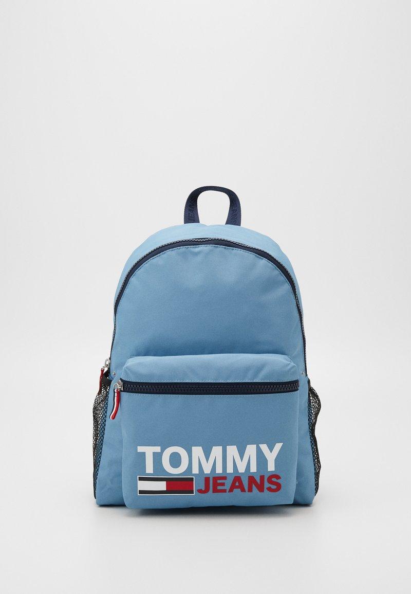 Tommy Jeans - TJM CAMPUS  BACKPACK GRAPHIC - Rucksack - blue