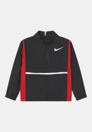 CROSSOVER  - Training jacket - black/university red/white