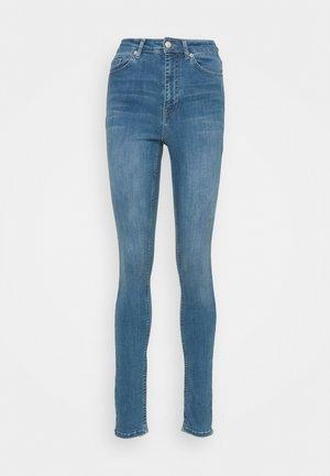 HIGH WAIST  - Jeans Skinny Fit - blue
