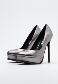 Even&Odd - High heels - gunmetal - 2