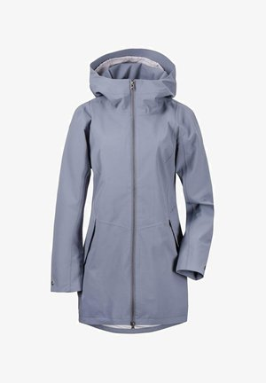 FOLKA - Outdoor jacket - blue-grey
