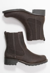 Clarks - ORINOCO HOT - Classic ankle boots - dark brown - 3
