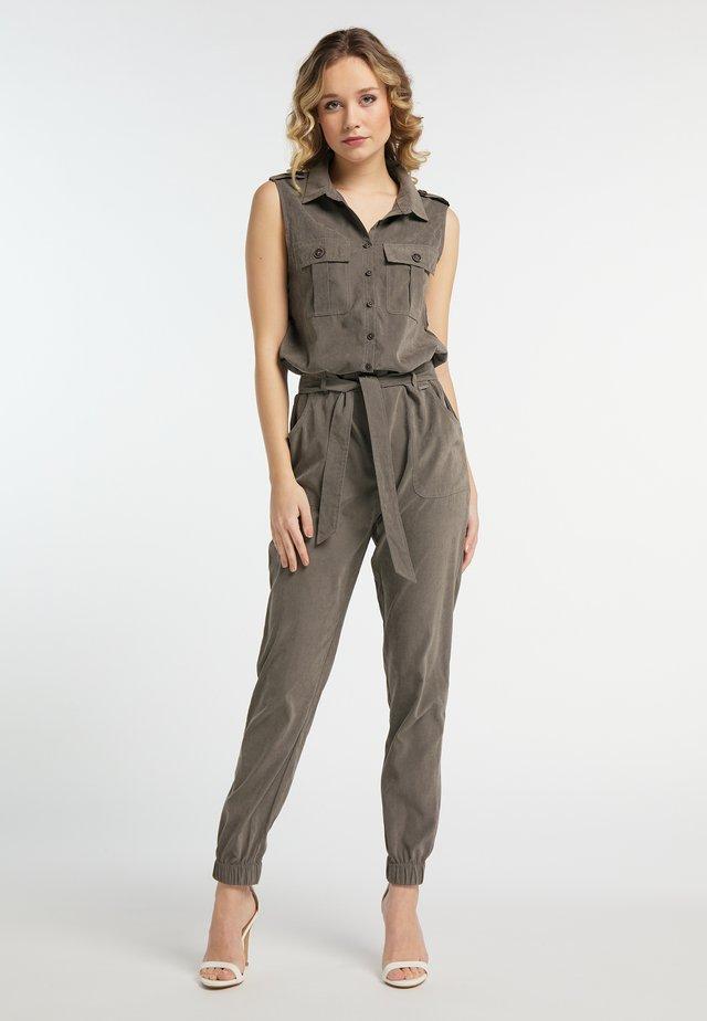Overall / Jumpsuit /Buksedragter - dark gray