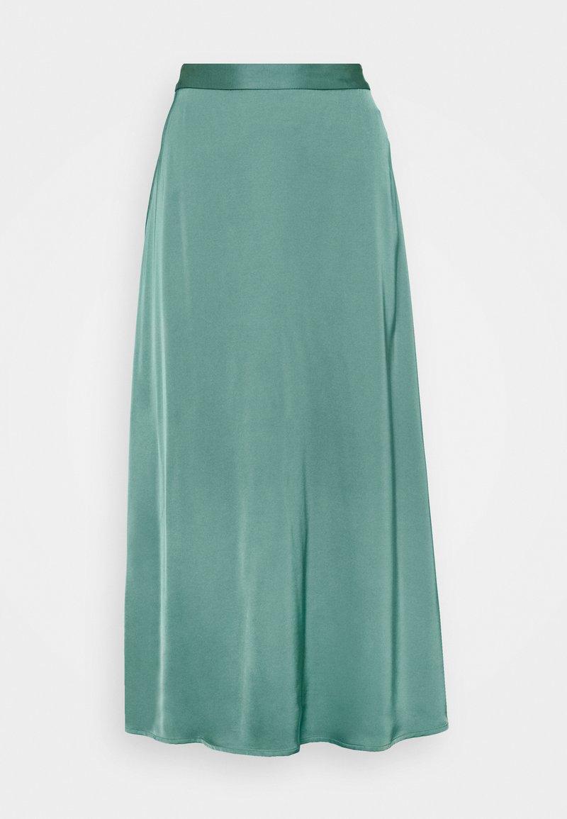 Esprit Collection - Maxi skirt - dark turquoise