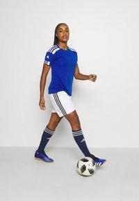 adidas Performance - SQUADRA 21 - T-shirts med print - royal blue/white - 1