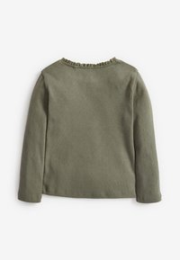 Next - BRUSHED POINTELLE - Long sleeved top - green - 1