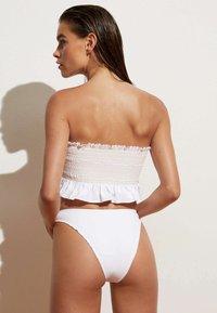 OYSHO - Bikini bottoms - white - 2