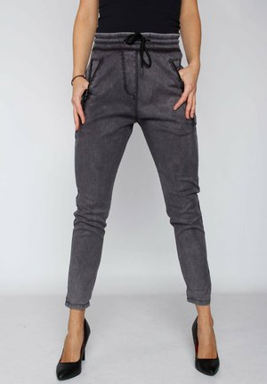 FABIA  - Relaxed fit jeans - black