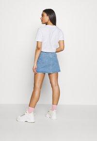 Missguided Petite - MINI SKIRT - Denim skirt - blue - 2