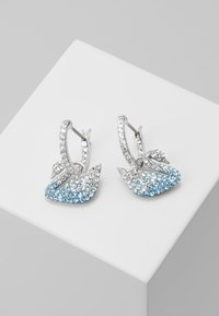 Swarovski - ICONIC SWAN HOOP - Earrings - multi - 0