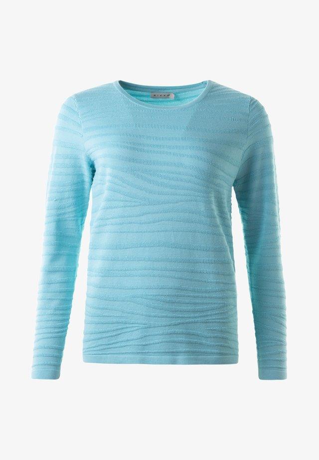 TINDRA - Stickad tröja - turquise