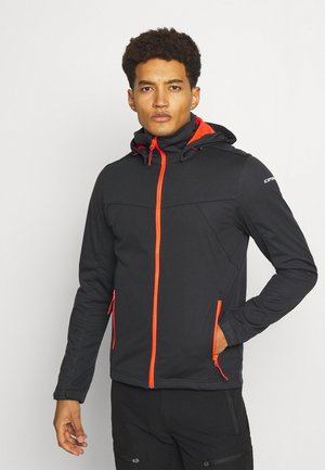 BIGGS - Kurtka Softshell - anthracite
