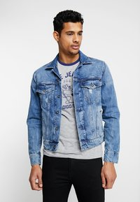 Pepe Jeans - PINNER - Denim jacket - medium used - 0