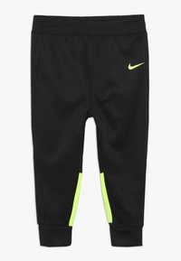 Nike Sportswear - BABY SET - Tracksuit - black/volt - 2