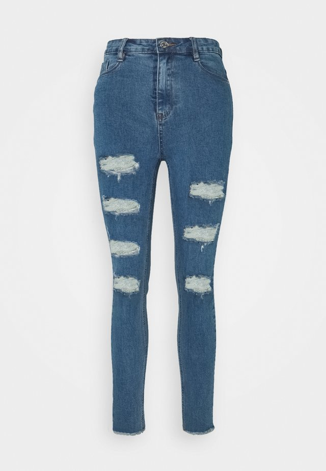 SINNER HIGHWAISTED EXTREME  - Jeans Skinny Fit - mid wash blue