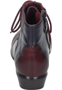 Piazza - Ankle boots - sangria/melanzana - 4