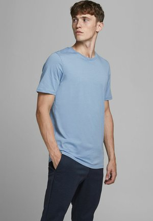 T-shirt basic - faded denim