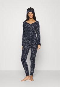 Anna Field - GIFTING JUMPSUIT - Pyjamas - dark blue - 1