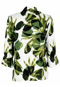 Alba Moda - Long sleeved top - weiß grün - 7