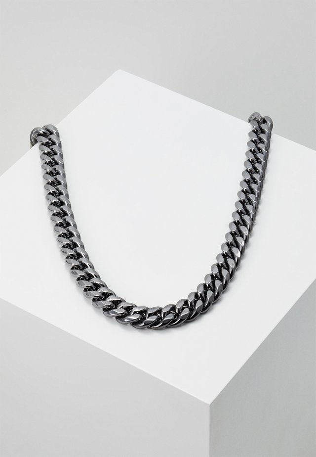 ATTICUS CHAIN NECKLACE - Ketting - gunmetal