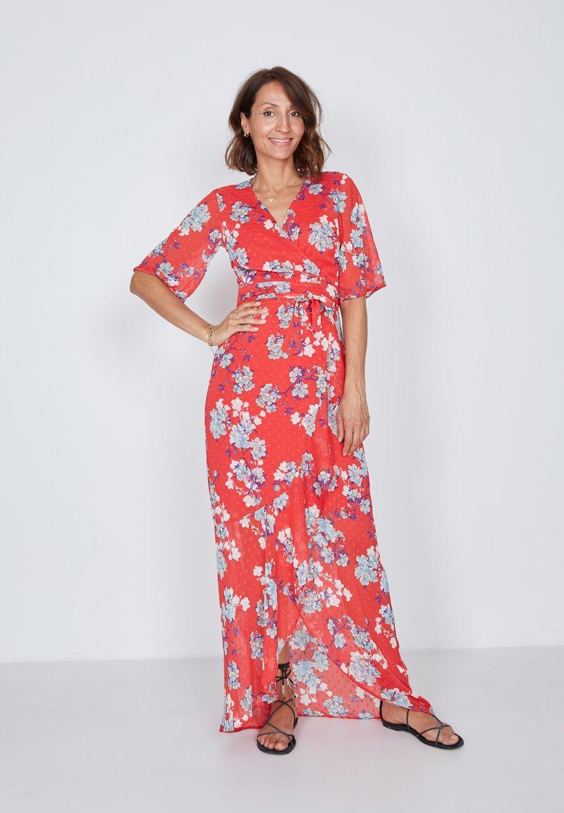 True Violet - Maxi dress - red