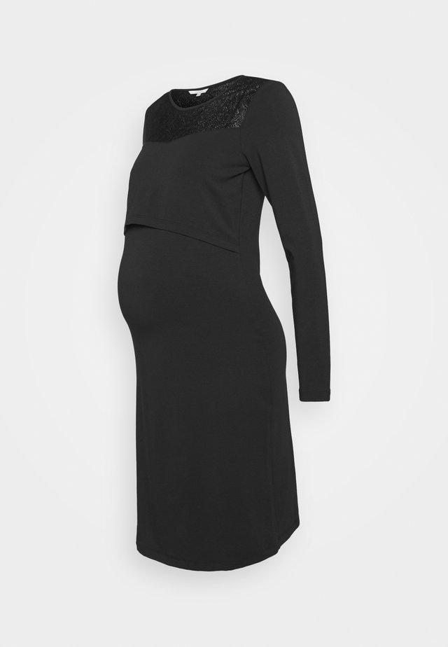MILA AUTHENTIC  - Vestito di maglina - black