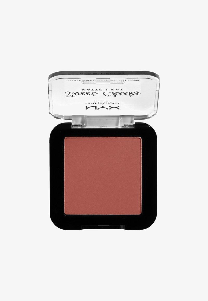 Nyx Professional Makeup - SWEET CHEEKS CREAMY POWDER BLUSH MATTE - Róż - 10 summer breeze