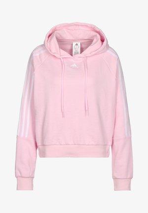 Hoodie - clear pink