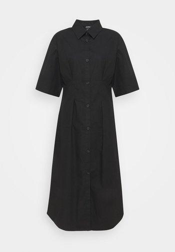 Skjortekjole - black solid