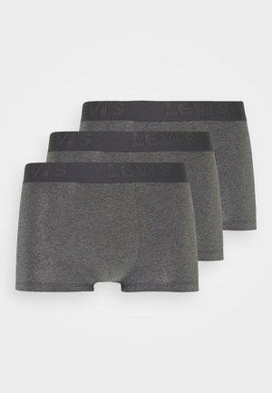 MEN PREMIUM TRUNK 3 PACK - Panties - grey melange