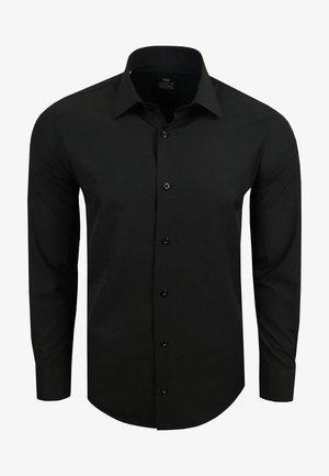 FREIZEIT-HEMD - Shirt - schwarz