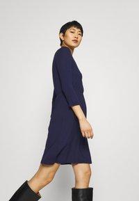 Anna Field - Mini waisted basic dress - Jersey dress - dark blue - 3