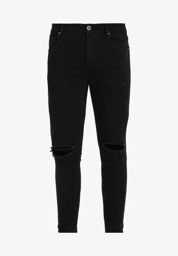 LUMOR - Skinny džíny - black