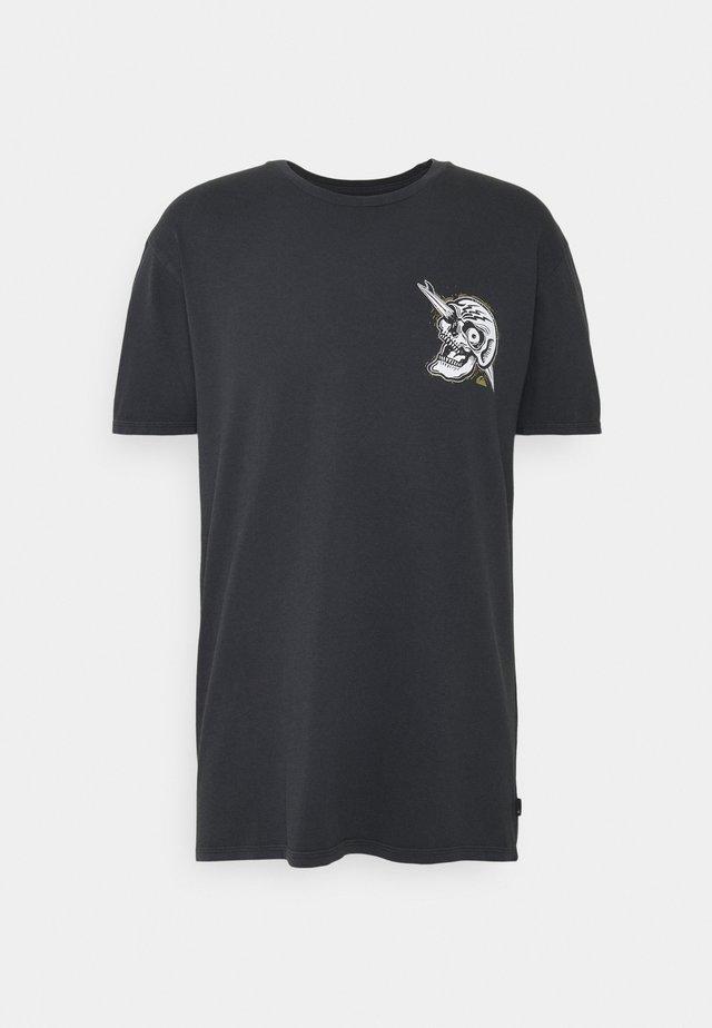 SUMMER SKULL  - T-shirt imprimé - black