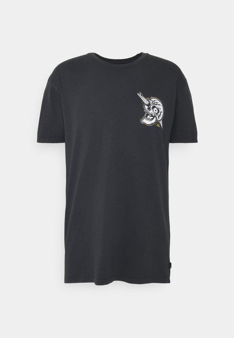 Quiksilver - SUMMER SKULL  - Print T-shirt - black