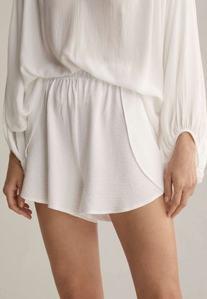 TEXTURED - Pyžamový spodní díl - white