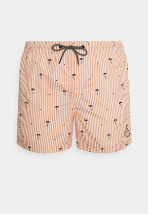 JJIBALI JJSWIM POOLSIDE - Swimming shorts - shell coral
