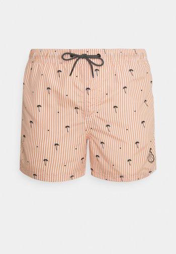 JJIBALI JJSWIM POOLSIDE - Swimming shorts - shell coral