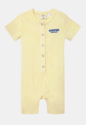 MINI BABY - Jumpsuit - transparent yellow