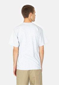 HUF - Born  - Print T-shirt - ash - 2