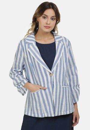Short coat - blau weiss