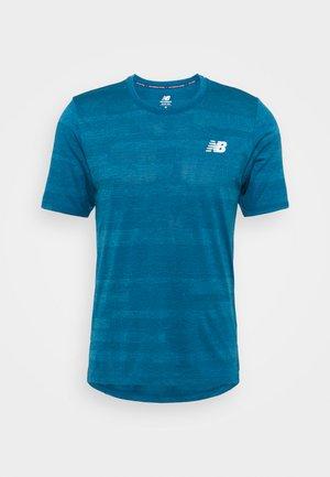 RUNNING - T-shirts print - petrol