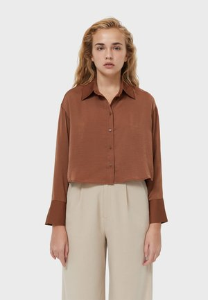 Košile - light brown