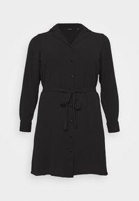 Vero Moda Curve - VMSAGA DRESS  - Shirt dress - black - 4