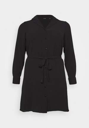 VMSAGA DRESS  - Shirt dress - black