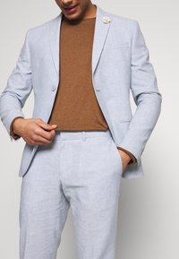 Isaac Dewhirst - PLAIN WEDDING - Oblek - blue - 9