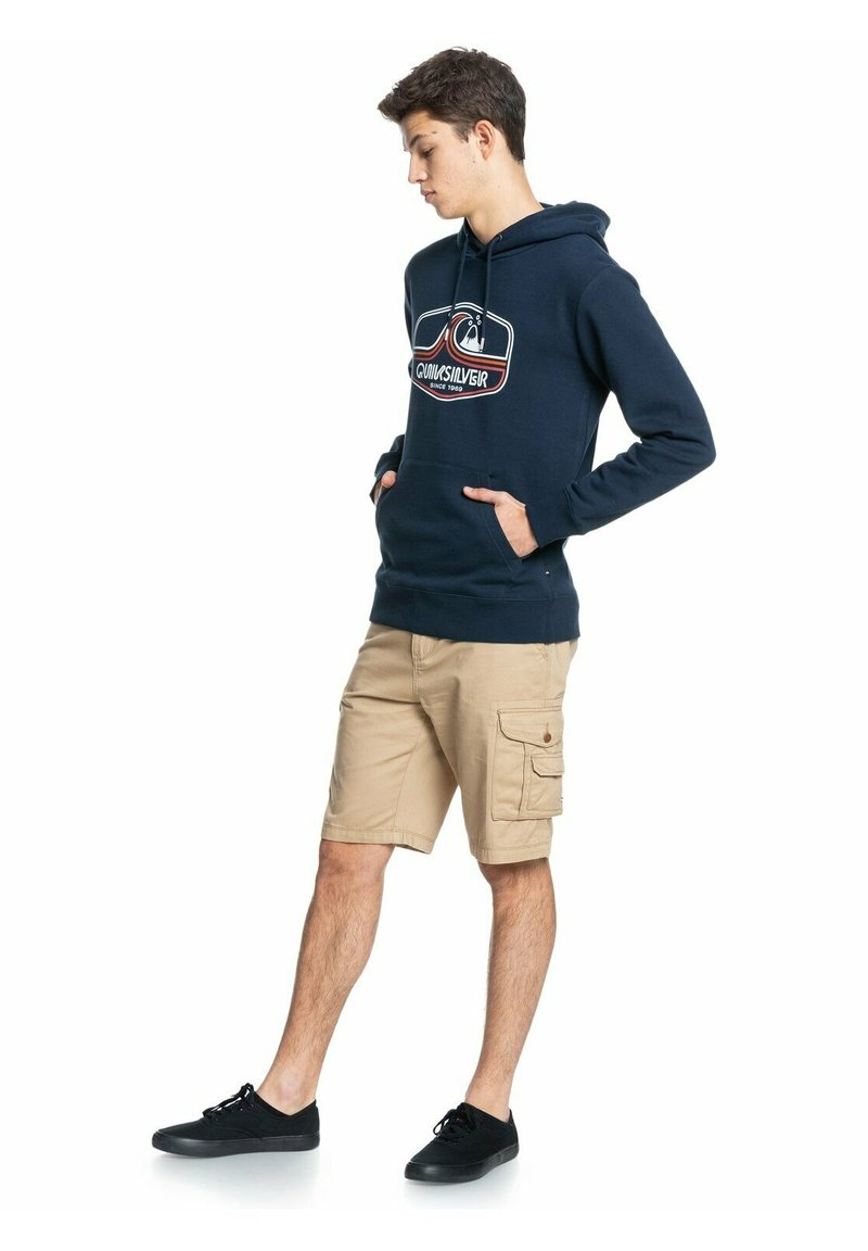 Quiksilver - HIGHWAY VAGABOND  - Hoodie - navy blazer