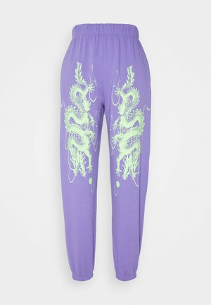 DRAGON JOGGERS - Trainingsbroek - lilac