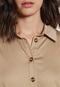 Ana Alcazar - Shirt dress - beige - 4